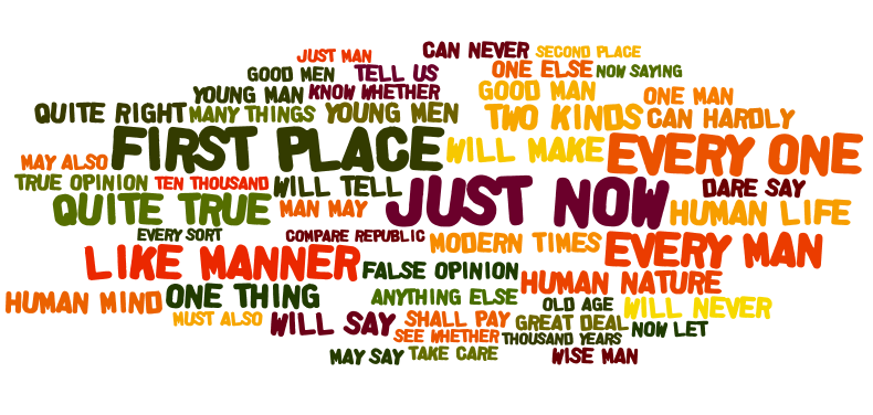 phrases used by Plato
