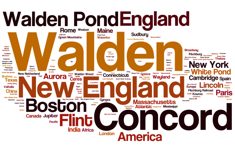 Word clouds with Wordle | Infomotions Mini-Musings